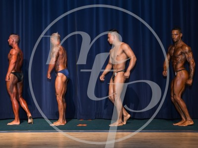 10 – Men's Novice Bodybuilding (Pre-Judging)